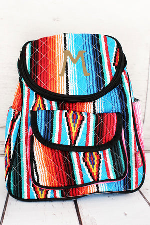 Southwest Serape Quilted Petite Backpack