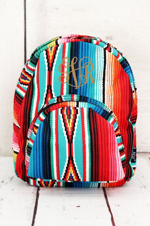 Southwest Serape Small Backpack