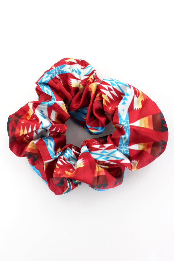 Red Mesa Scrunchie