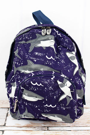 Fintastic Sharks Small Backpack