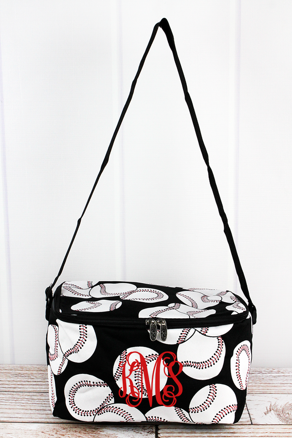 Baseball Insulated Shoulder Lunch Bag
