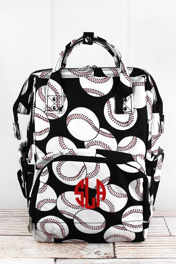 Baseball Diaper Bag Backpack