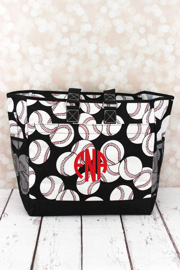 Baseball Everyday Organizer Tote