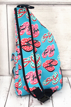 Flip Flop Fun Sling Backpack