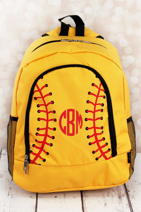 Softball Laces Large Backpack