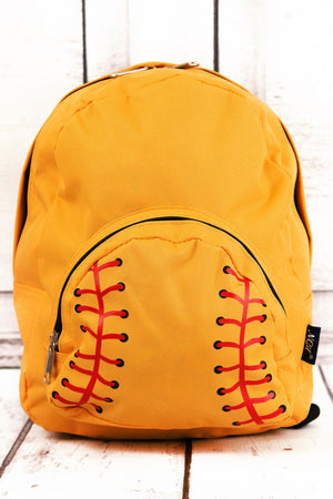 Softball Laces Small Backpack