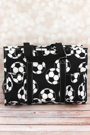 Soccer Utility Tote with Black Trim
