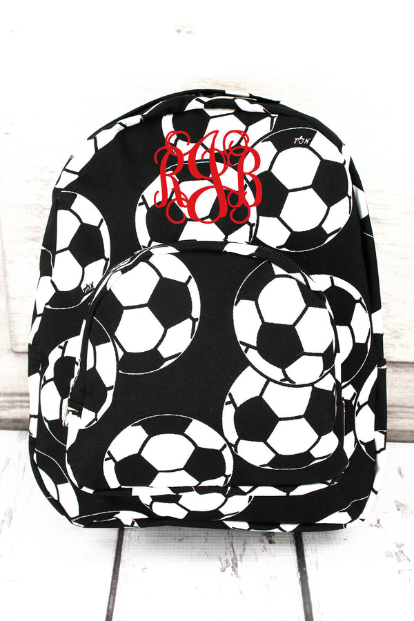 Soccer Small Backpack #SOC828-BLACK