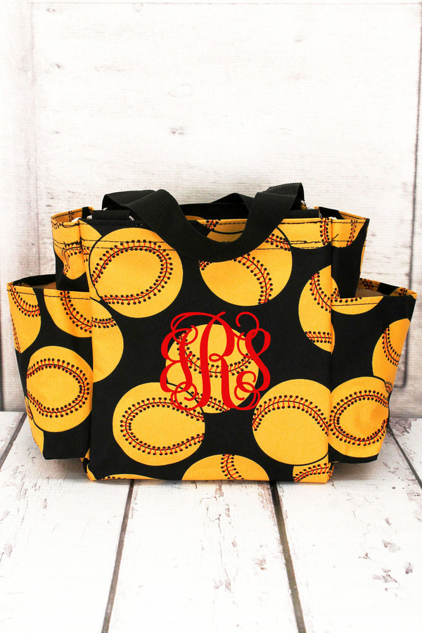Softball Organizer Tote #SOF903-BLACK