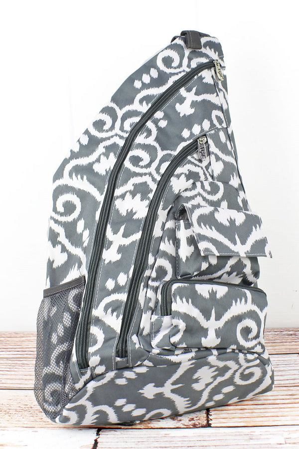 Dizzy Damask Sling Backpack