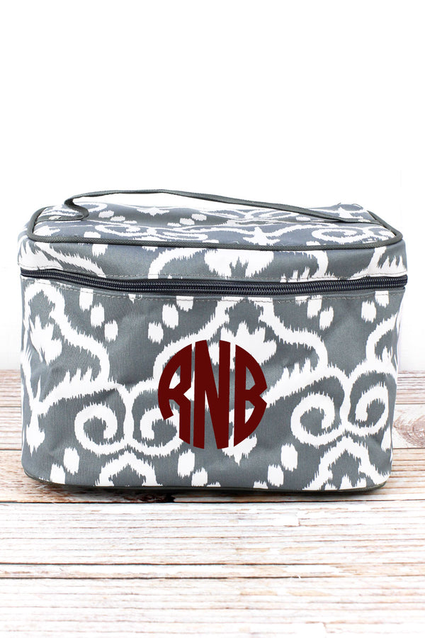 Dizzy Damask Train Case
