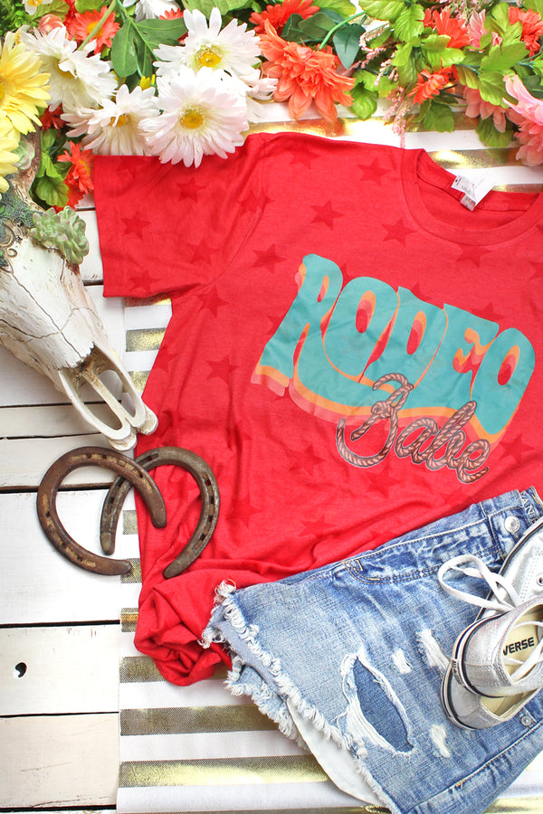 Rodeo Babe Unisex Five Star Tee