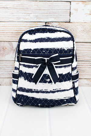 Ocean Breeze Quilted Backpack