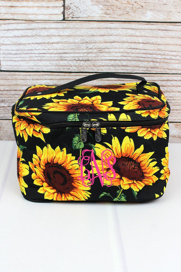Sunflower Train Case