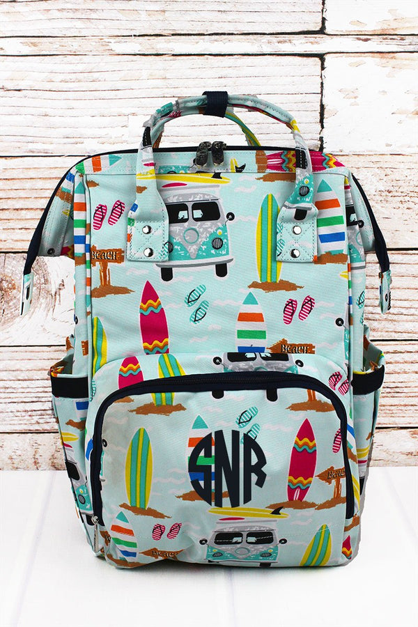 Surf's Up Diaper Bag Backpack