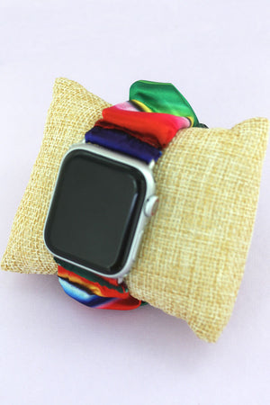Serape Scrunchie Band for Apple Watch, 42mm-44mm