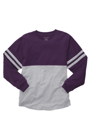 Boxercraft Purple and Oxford Pom Pom Jersey *Personalize It
