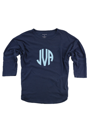 Navy Vintage Oversized Jersey #T19N *Personalize It!