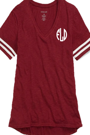 Boxercraft Sporty Slub Tee, Garnet *Personalize It