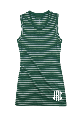 Hunter Stripe Sleeveless Dress/Cover Up #T84 *Personalize It