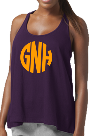 Purple Flare Tank Top #T87P *Personalize It!