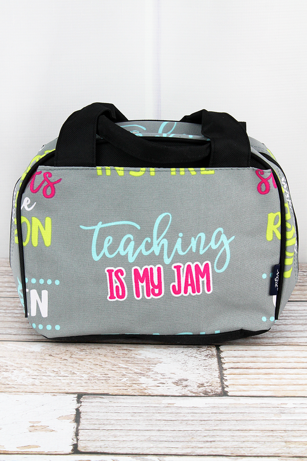 Teacher Life Insulated Bowler Style Lunch Bag
