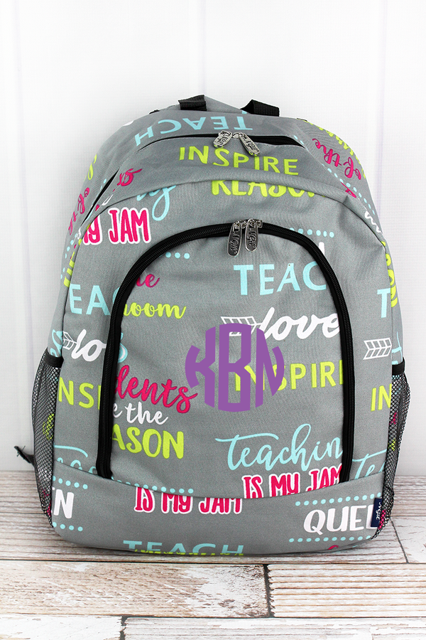 Teacher Life Large Backpack
