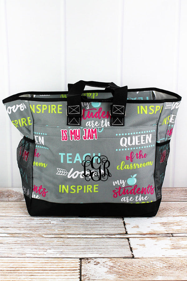 Teacher Life Everyday Organizer Tote