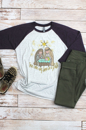Nativity True Love Tri-Blend Unisex 3/4 Raglan