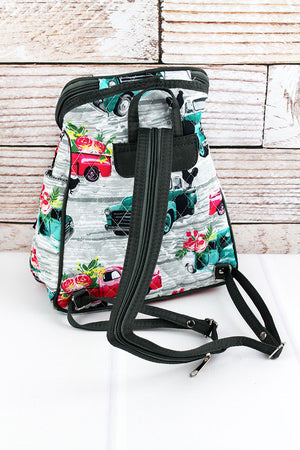 From The Farm Quilted Petite Backpack