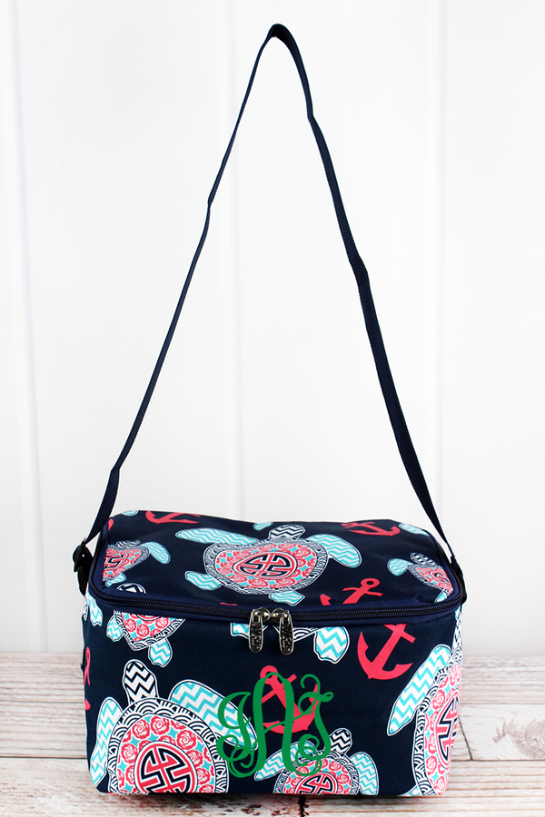 Preppy Under The Sea Insulated Shoulder Lunch Bag