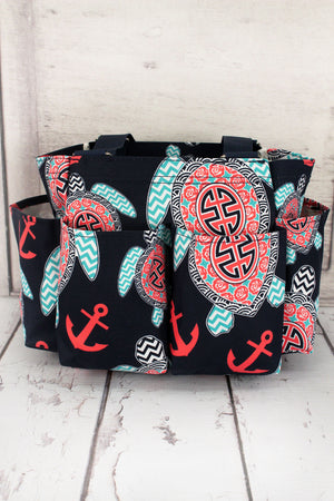 Preppy Under the Sea Organizer Tote