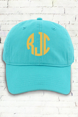 Lagoon Comfort Colors Dyed Canvas Baseball Cap #CC0103