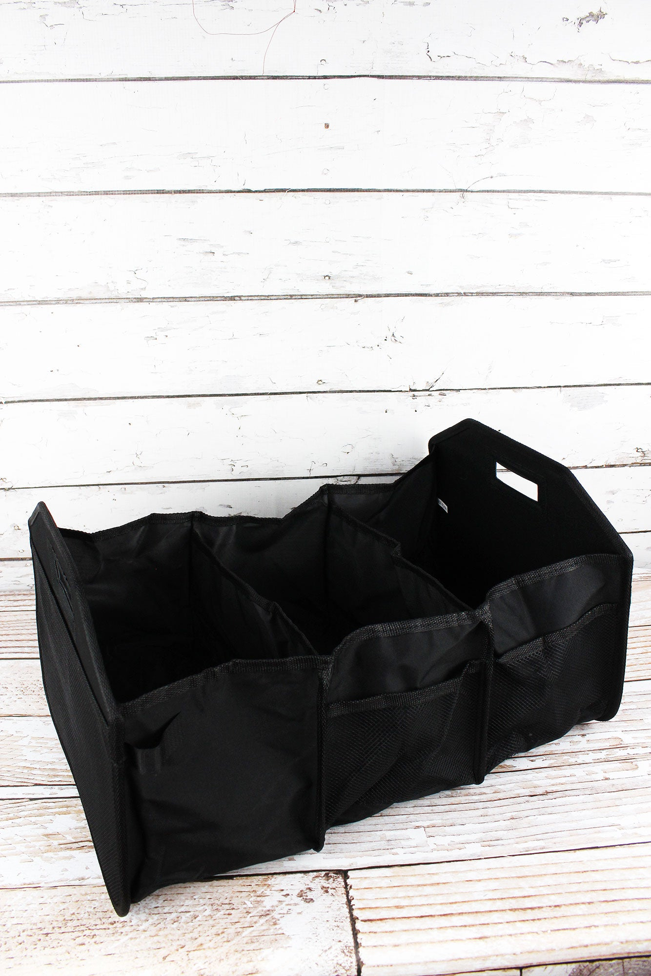 ... Black Utility Storage Tote With Insulated Bag ...