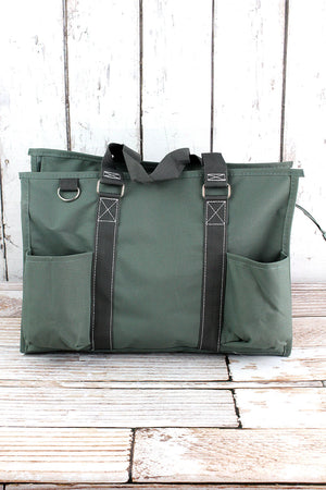 Moss Gray Utility Tote