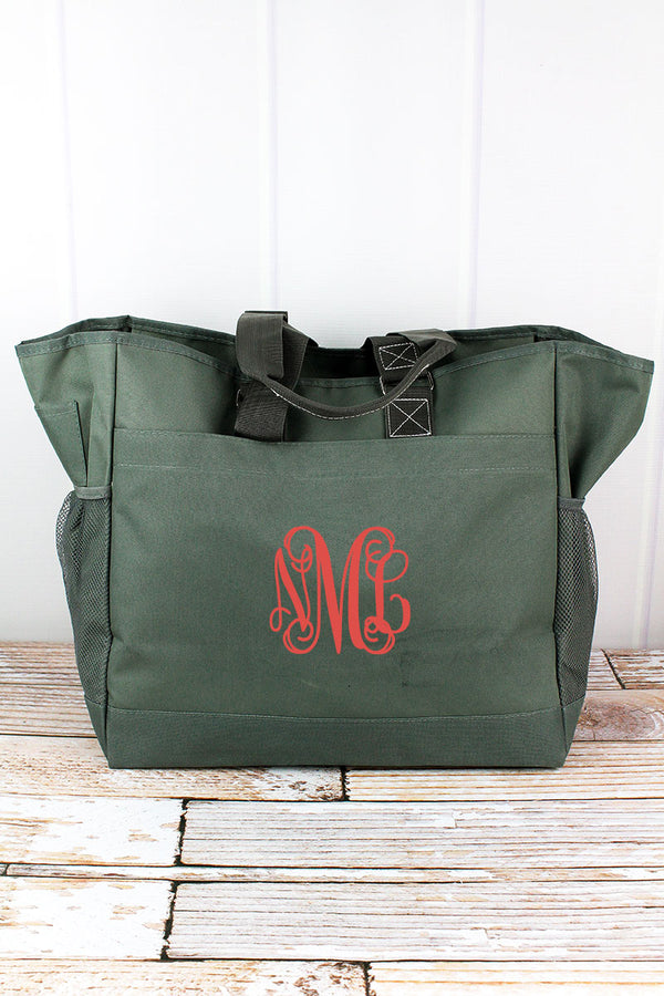 Moss Gray Everyday Organizer Tote