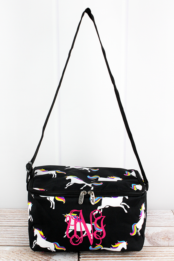 Enchanted Unicorn Insulated Shoulder Lunch Bag
