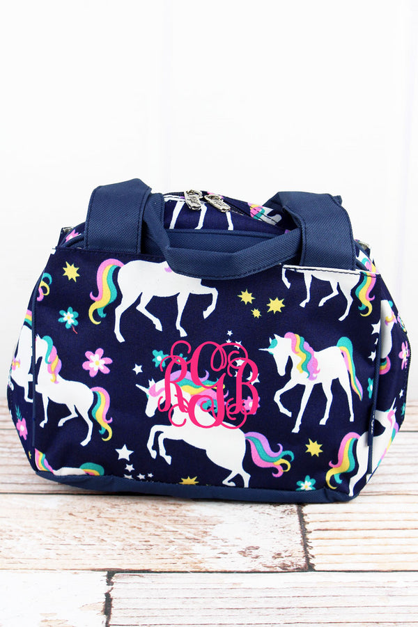 Unicorn Dreams Insulated Bowler Style Lunch Bag