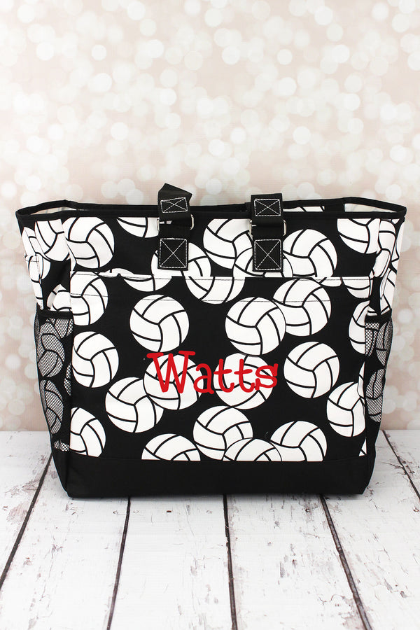 Volleyball Everyday Organizer Tote