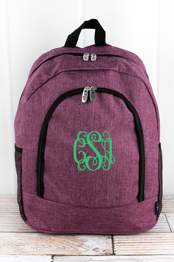 Black Cherry Crosshatch Large Backpack