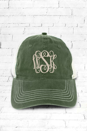 Forest Washed Trucker Cap