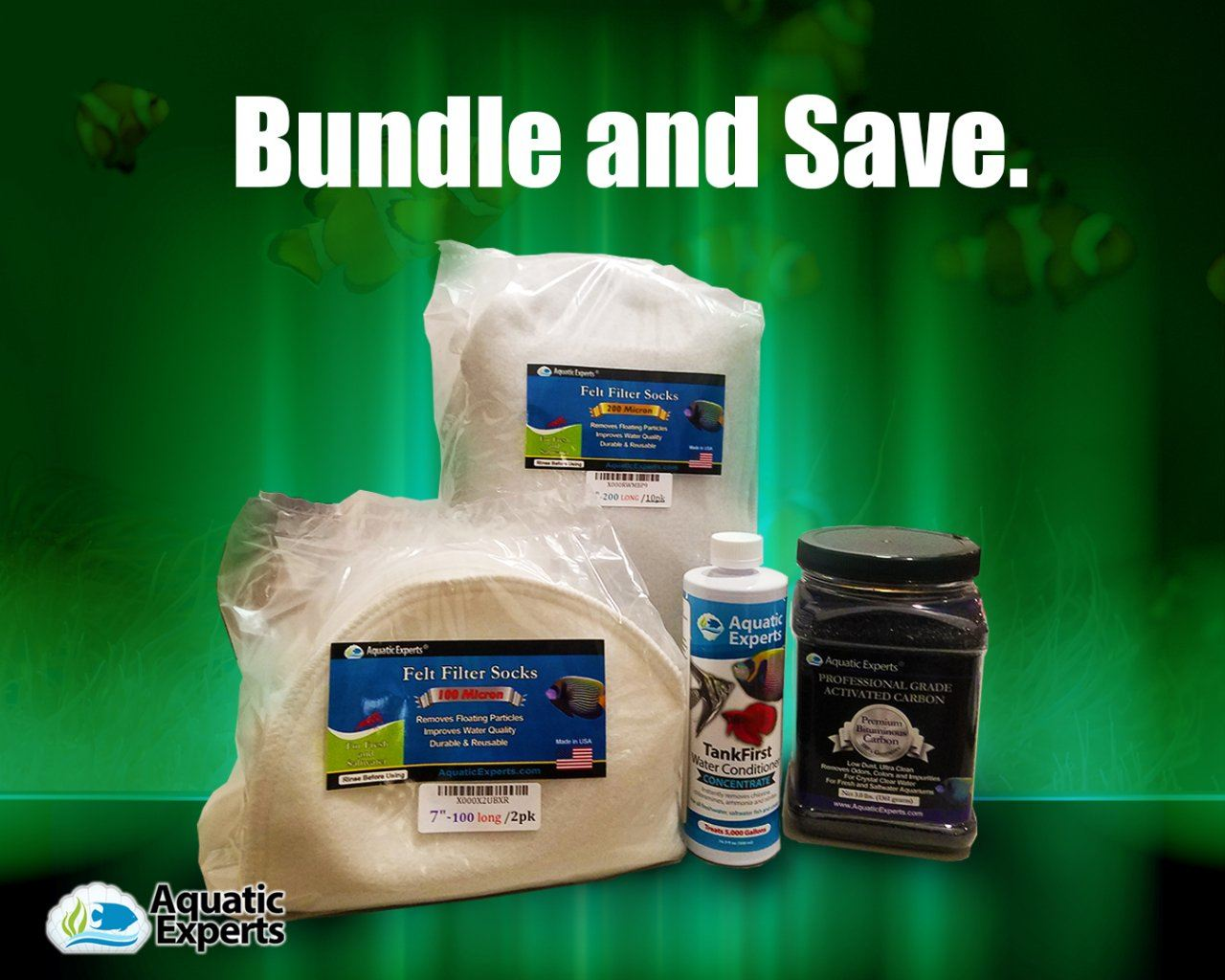 Aquarium Bundle 4 - Aquatic Experts