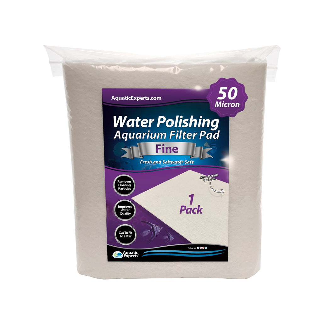 Polishing Filter Pad 50 Mi Prefilter Media - 24 in by 36 in by 1/8 in - 1 Pack