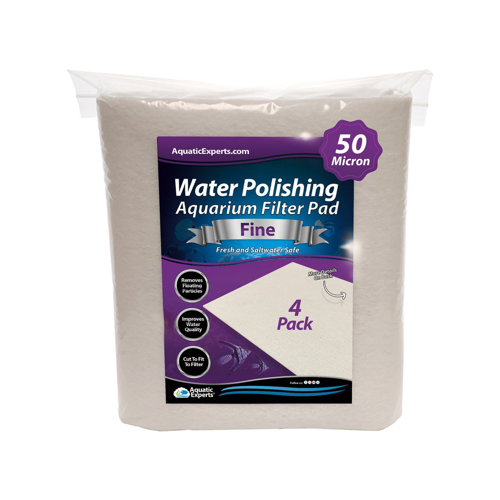 Polishing Filter Pad 50 Mi Prefilter Media - 24 in by 36 in by 1/8 in - 4 Pack