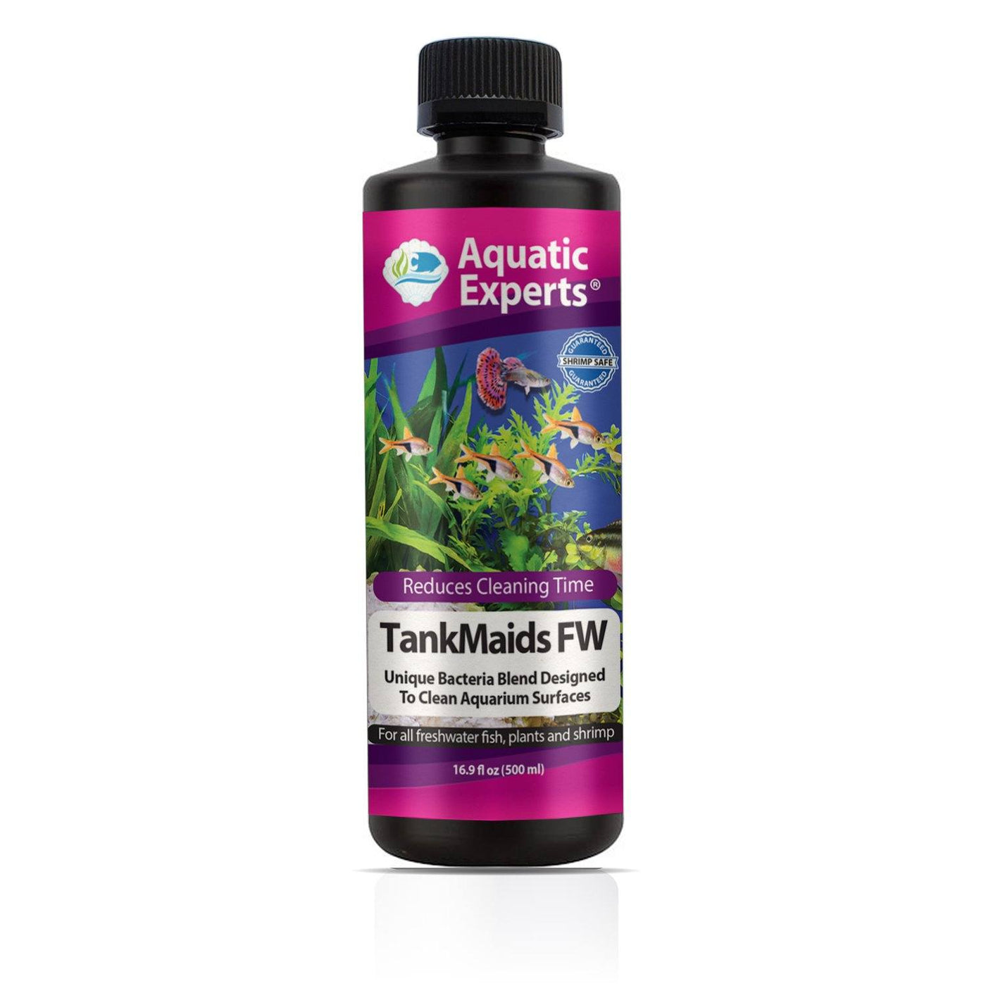 TankMaids FW Aquarium Biological Surface Cleaner - Unique Bacteria Designed for Cycling Freshwater Aquaria - Aquatic Experts
