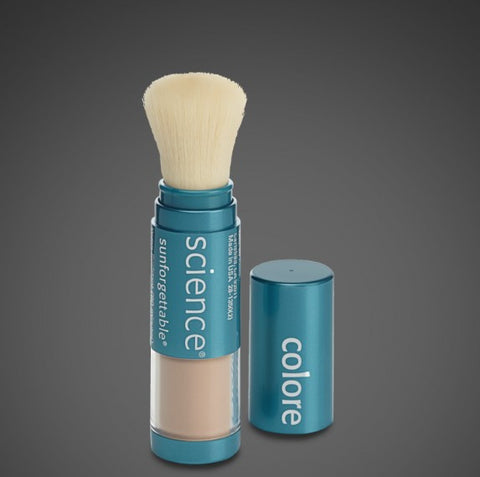 Colorescience - SUNFORGETTABLE® Mineral Sunscreen Brush SPF 50 = MEDIUM
