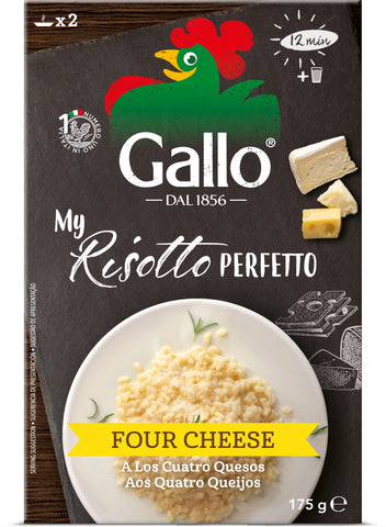 My Risotto Perfetto Four Cheese 175g