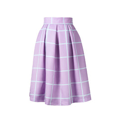 What About a Taro Boba Midi Skirt