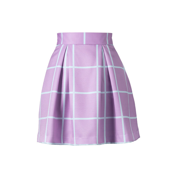 What About a Taro Boba Mini Skirt
