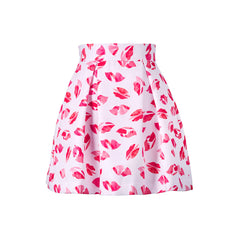 Lips Don't Lie Mini Skirt
